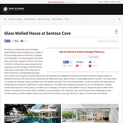 Glass Walled House at Sentosa Cove