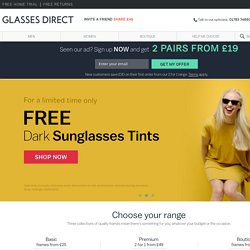Glasses Direct ™ UK's presciption Glasses Retailer