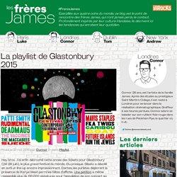La playlist de Glastonbury 2015