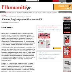 À Nantes, les glauques vociférations du FN