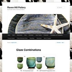 Glaze Combinations