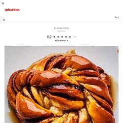 Glazed Cinnamon-Cardamom Buns recipe