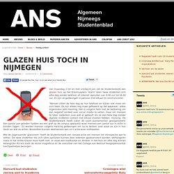 ANS: Glazen Huis toch in Nijmegen