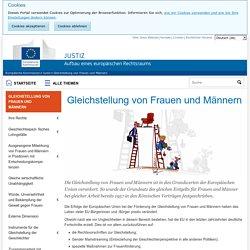 Gleichstellung von Frauen und Männern - Europäische Kommission
