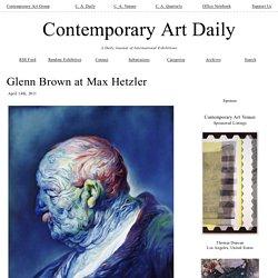 Glenn Brown at Max Hetzler