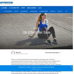 Gli Effetti del Sale - Myprotein