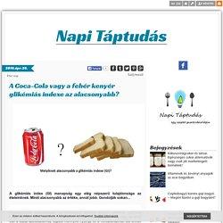 A Coca-Cola vagy a fehér kenyér glikémiás indexe az alacsonyabb? - Napi Táptudás