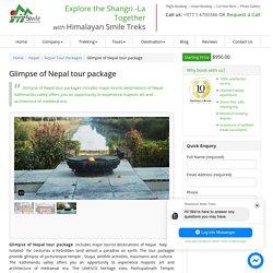 Glimpse of Nepal Tour Package : Himalayan Smile Treks & Adventure