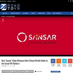 New 'Sansar' Video Glimpses More Virtual Worlds Made on the Social VR Platform – Road to VR