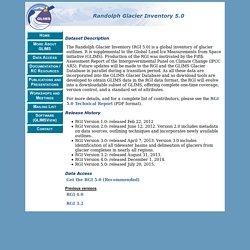 Randolph Glacier Inventory