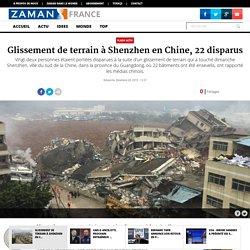 Glissement de terrain à Shenzhen en Chine, 22 disparus