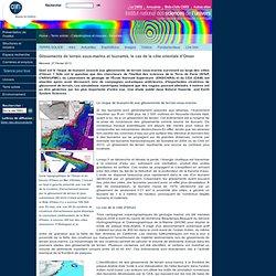 Glissements de terrain sous-marins et tsunamis, le cas de la côte orientale d'Oman