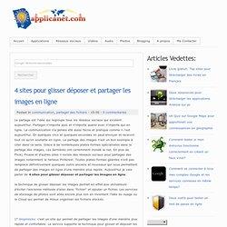 4 sites pour glisser déposer et partager les images en ligne