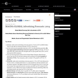 MAGNA GLOBAL Advertising Forecasts: 2014