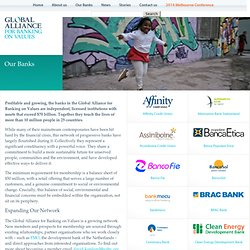 Global Alliance – For Banking on Values ~ Our Banks