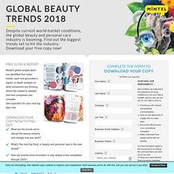 Global Beauty Trends 2018