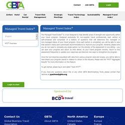 Global Business Travel Association - Managed Travel Index