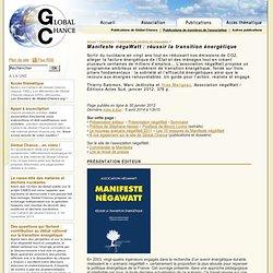 le Manifeste Négawatt