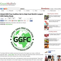 Global GMO Free Coalition Set to Help Fund World's Largest GMO
