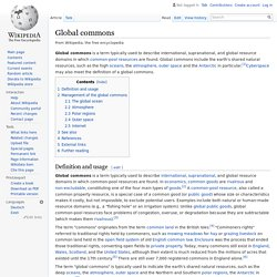 Global commons - Wikipedia