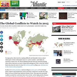 The Global Conflicts to Watch in 2015