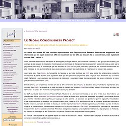 Le Global Consciousness Project