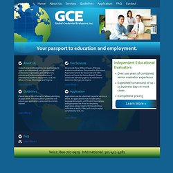 Global Credential Evaluators