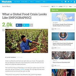 What a Global Food Crisis Looks Like [INFOGRAPHIC]