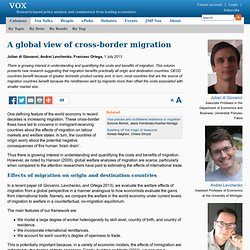 A global view of cross-border migration