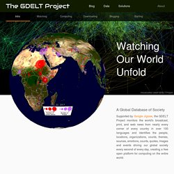 GDELT: Global Database of Events, Language, and Tone