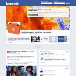 Global Relief on Facebook