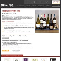 Global Discovery Club > JOIN OUR WINE CLUB