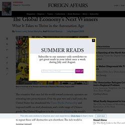 The Global Economy's Next Winners