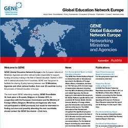 GENE - Global Education Network Europe