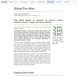 Fire Atlas - Global Fire Emissions Database