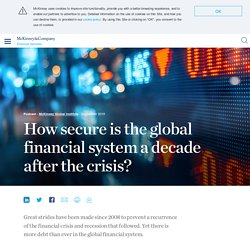 The global financial crisis: Its impact and the recovery