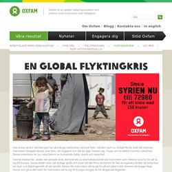 En global flyktingkris