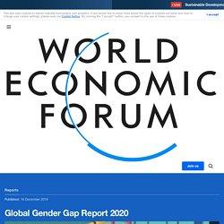 Global Gender Gap Report 2020
