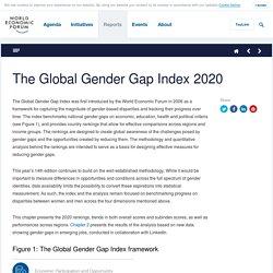 Global Gender Gap Report 2020 - Reports - World Economic Forum