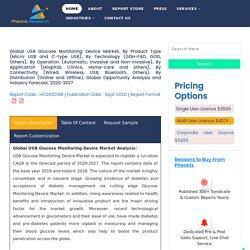 Global USB Glucose Monitoring Device Market (2020-27)