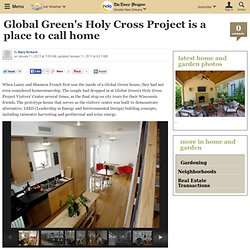 Global Green's Holy Cross Project is a place to call home