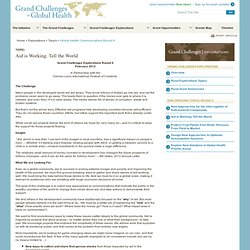 Global Health Communications Round 9