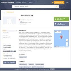 Global Focus Ltd - Henley in Arden, United Kingdom