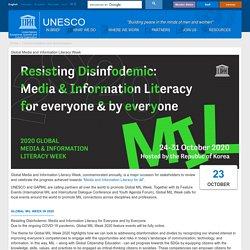 Global Media and Information Literacy Week