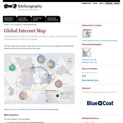 Global Internet Map