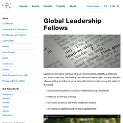 Global Leadership Fellows