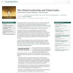 Global Leadership and Talent Index