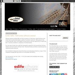 Adifo - Feed sector software seminar