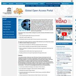 Global Open Access Portal
