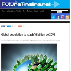 Global Population Hits 10bn
